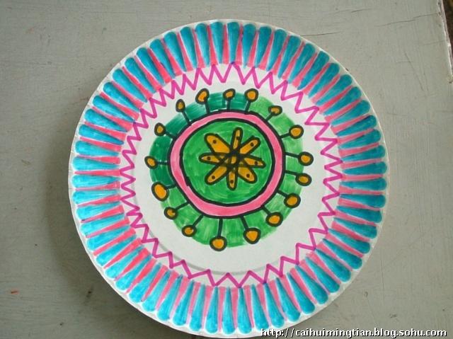放射式图案设计或单独纹样设计