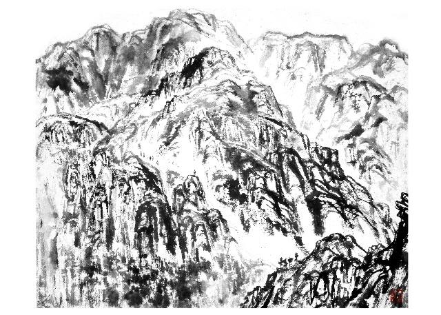 陈天然诗书画图片