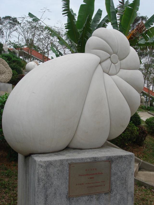 [贴图][游山玩水]海洋原生动物有孔虫雕塑公园(已添)