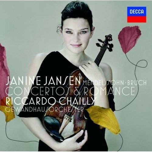 吉妮 杨森 演奏 门德尔松与布鲁赫小提琴协奏曲