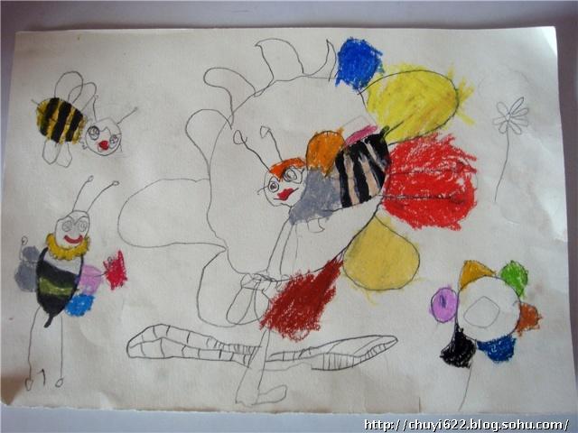 美丫儿幼儿园小班的手工和美术作品(图)