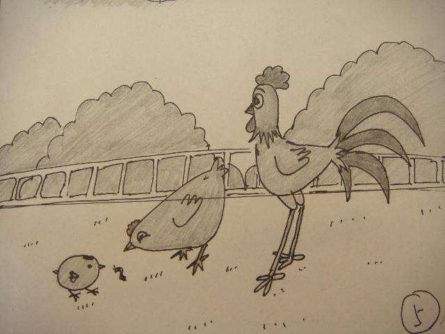迷上了画卡通版的简笔画 高清图片
