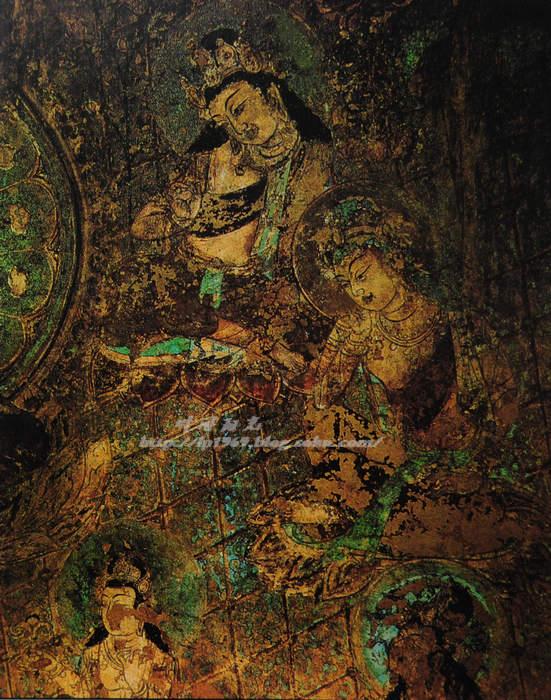 花黄青海梦敦煌----莫高窟 壁画