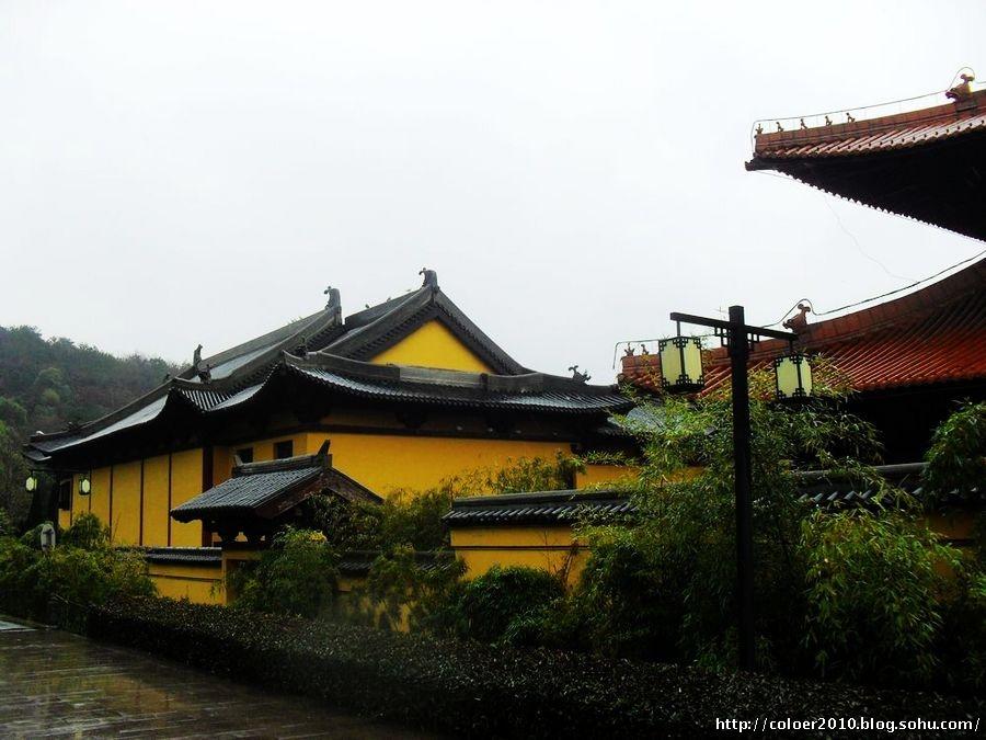 灵山圣境中大型动态音乐喷泉演出九龙灌浴