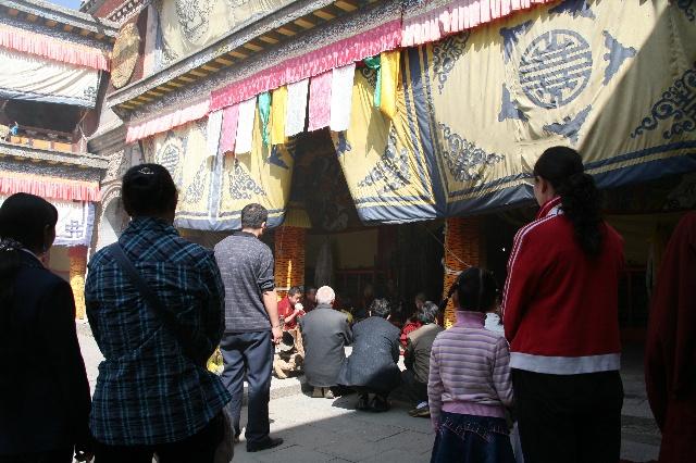 小金瓦殿是塔尔寺的护法神殿