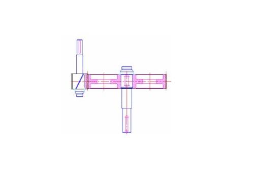 一级直齿减速器装配图画图步骤详解