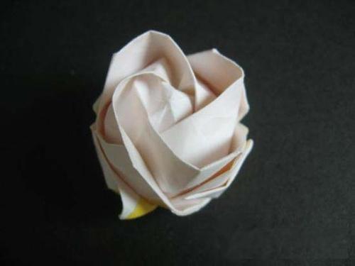 玫瑰花的叠法``