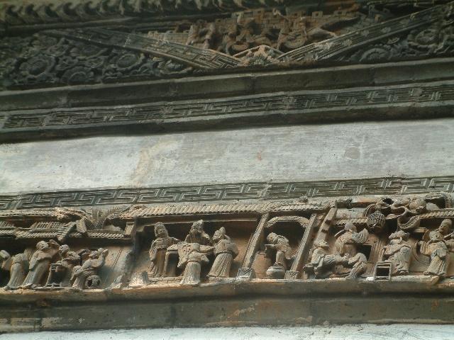 徽州民居上的木雕