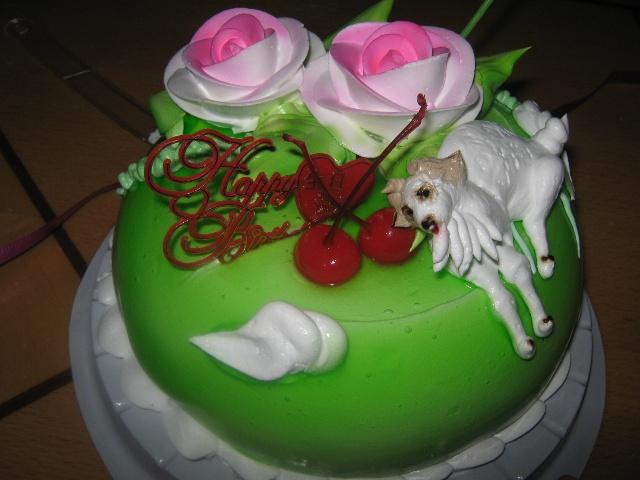 属羊生日蛋糕_生日