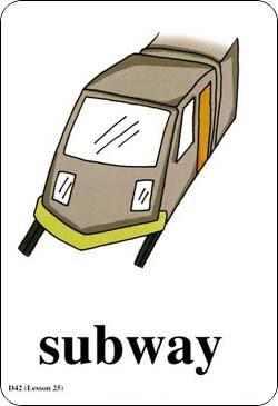地铁简笔画简单幼儿