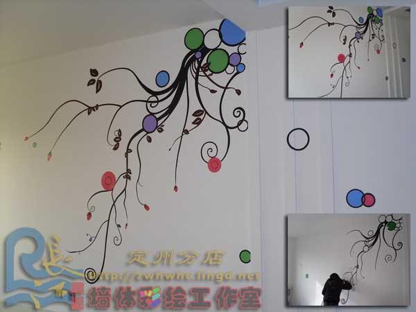 定州幼儿园墙体彩绘