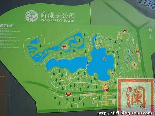 南海子公园导游图