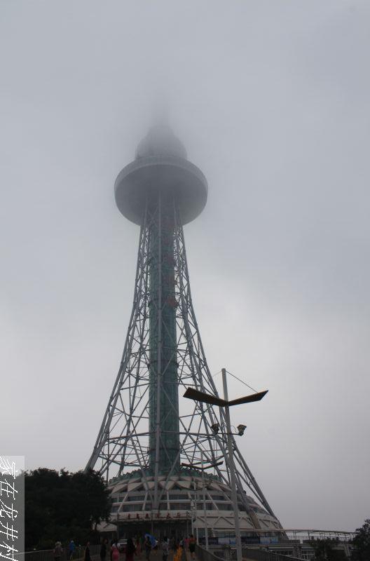 太平山上的青岛电视塔还是在下面看一下好了