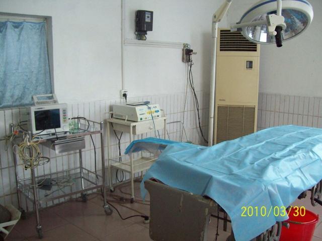 乡镇医院的手术室:)