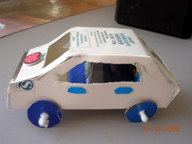 手工制作小汽车盒子