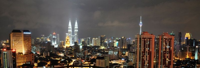 隆坡双子塔和太子城
