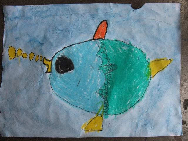 -------《简笔画-鱼》-卡