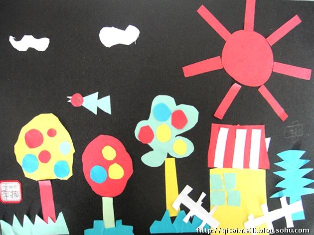 儿童画儿童画作品欣赏儿童画海底世界第4页_点力
