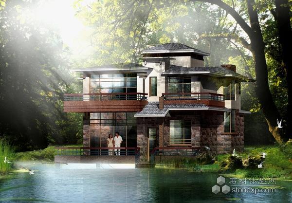 别墅外观设计精美效果图集
