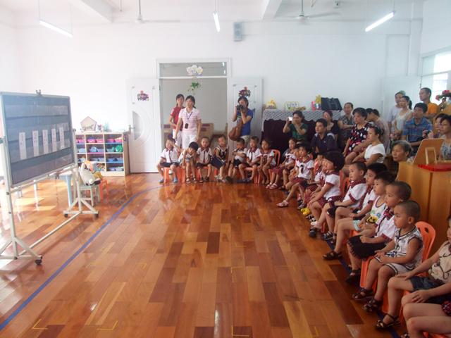 小卓伦的幼儿园生活(九)——幼儿园开放课照片