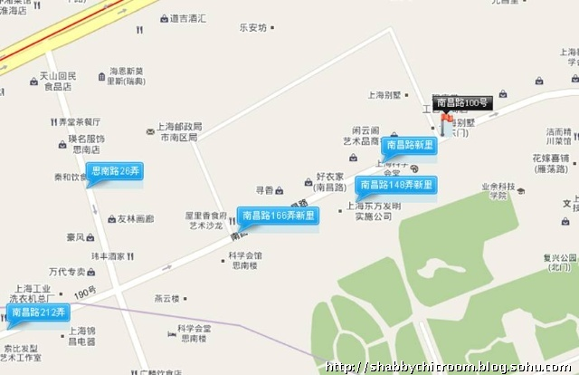 上海炒房团红色地图