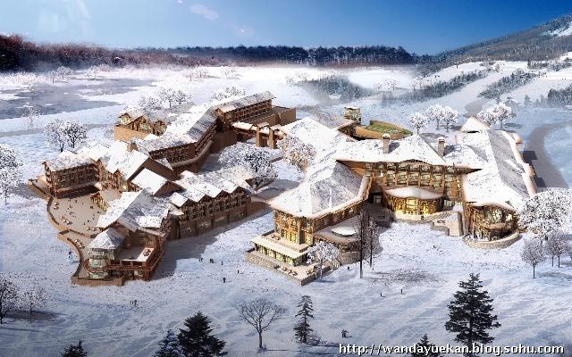 长白山国际旅游度假区南区项目