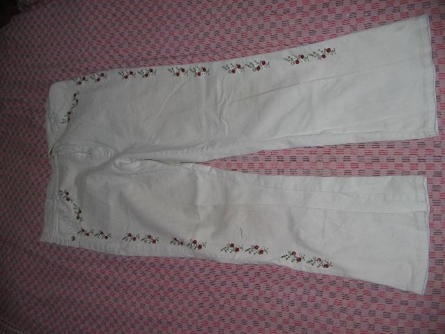 旧衣改造:牛仔裤改做马甲