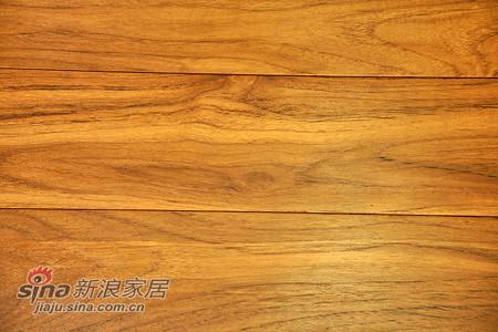 森林之旅实木地热地板—极品山纹硬质蜡油柚木地板