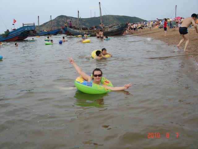 瓦房店李官龙王庙砂石矿海滨浴场
