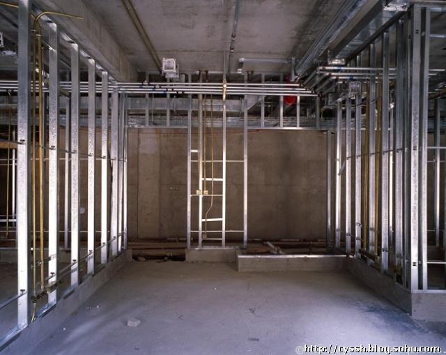 轻钢龙骨石膏板隔墙的施工工艺