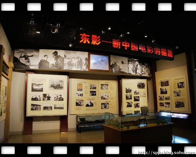 参观中国电影博物馆