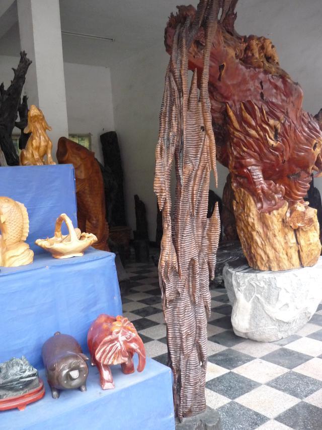 茶马古道与二郎山木雕