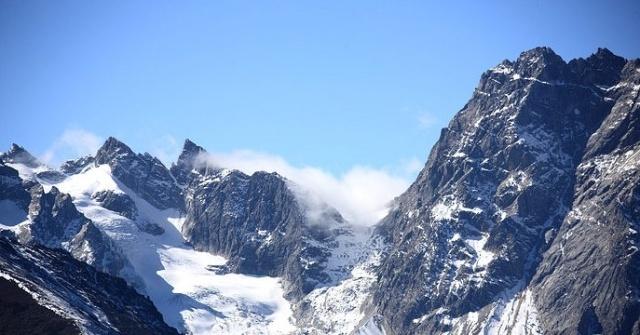 盘山风景区冬季