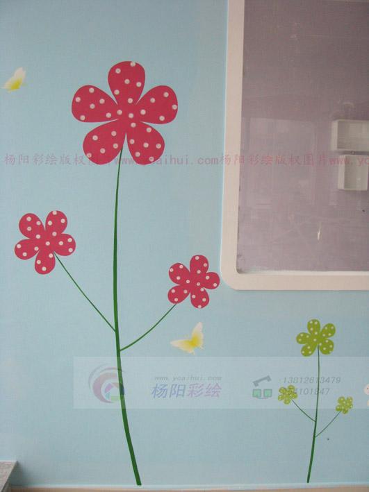 吴江墙面彩绘-吴江幼儿园墙面装饰