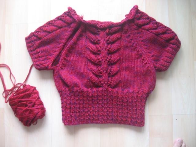 【引用】好看又好织的叶子花衣衣--有织法