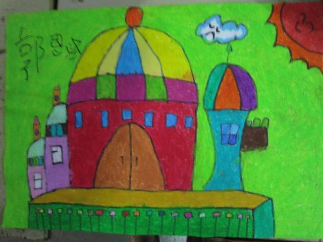 卡通画城堡