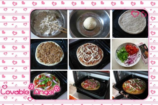 关于披萨的制作步骤组图如下