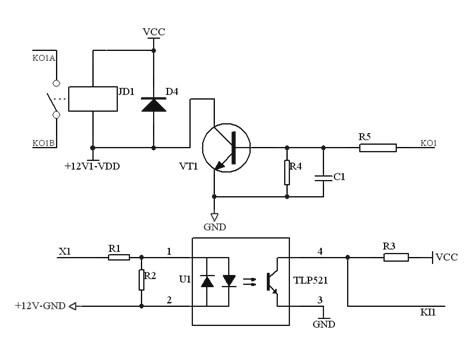 51芯片点阵电路图