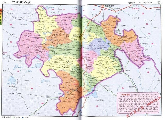陕西榆林市神木地图