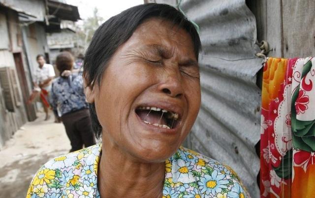 柬埔寨首都强拆棚户区 警民对抗