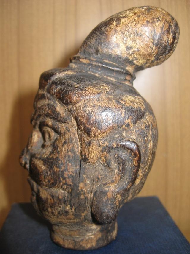 记疑明代木雕菩萨头像
